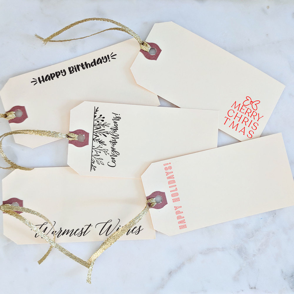 Gift Tags: Sending directly to someone? Include a gift message with your order.