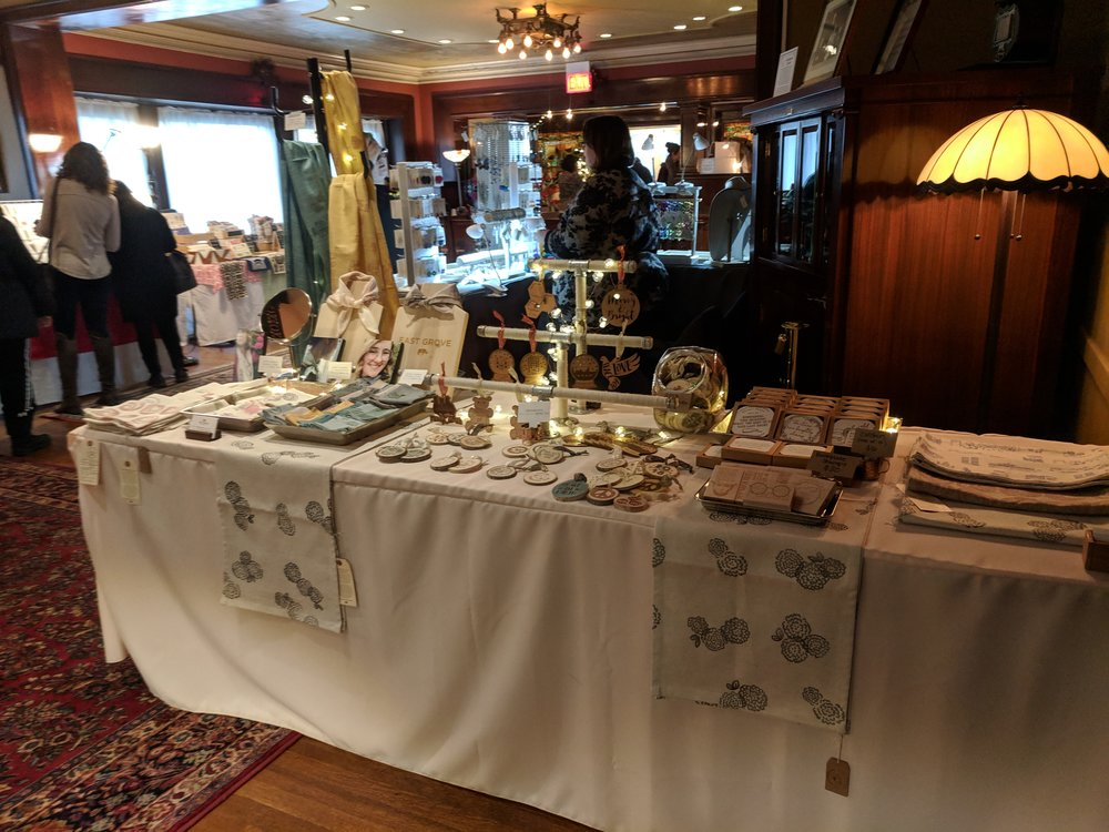 2018: Pleasant Home Mansion Holiday Market