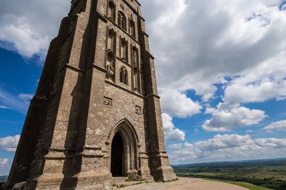 St. Michael's Tower Glastonbury Tor © Jennifer Bailey 2017