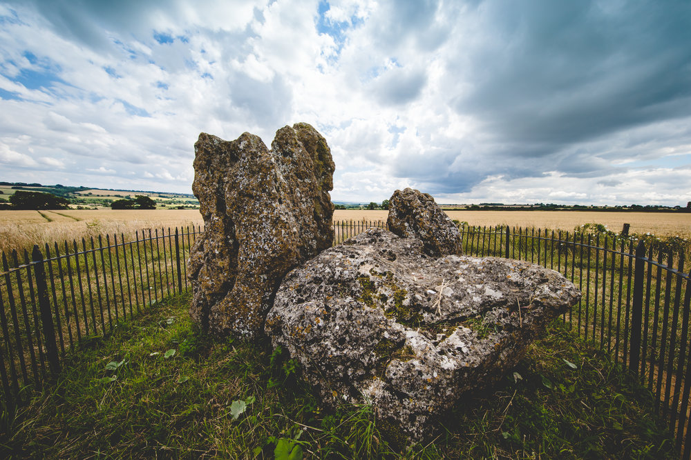 King Stone, Rollright Stones, Oxfordshire ©Jennifer Bailey