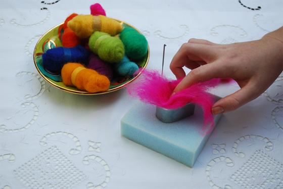 stuffing wool