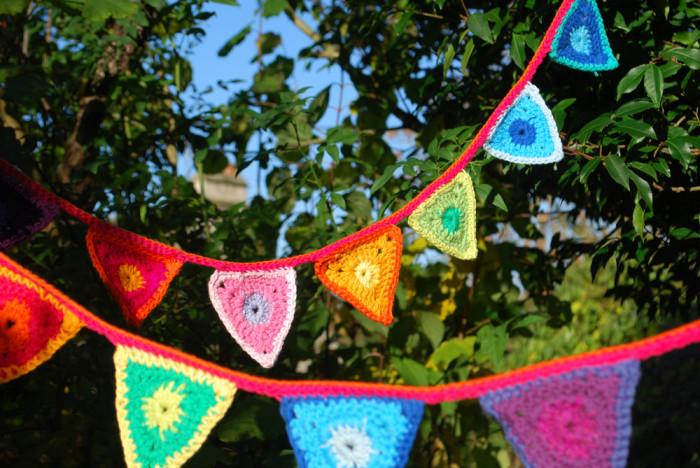 crochet-bunting