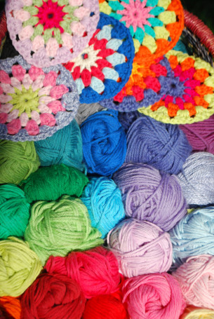 Enjoy a one-to-one crochet workshop