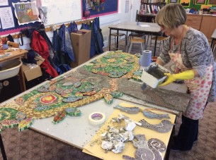 Grouting the Tree of Life Mosaic