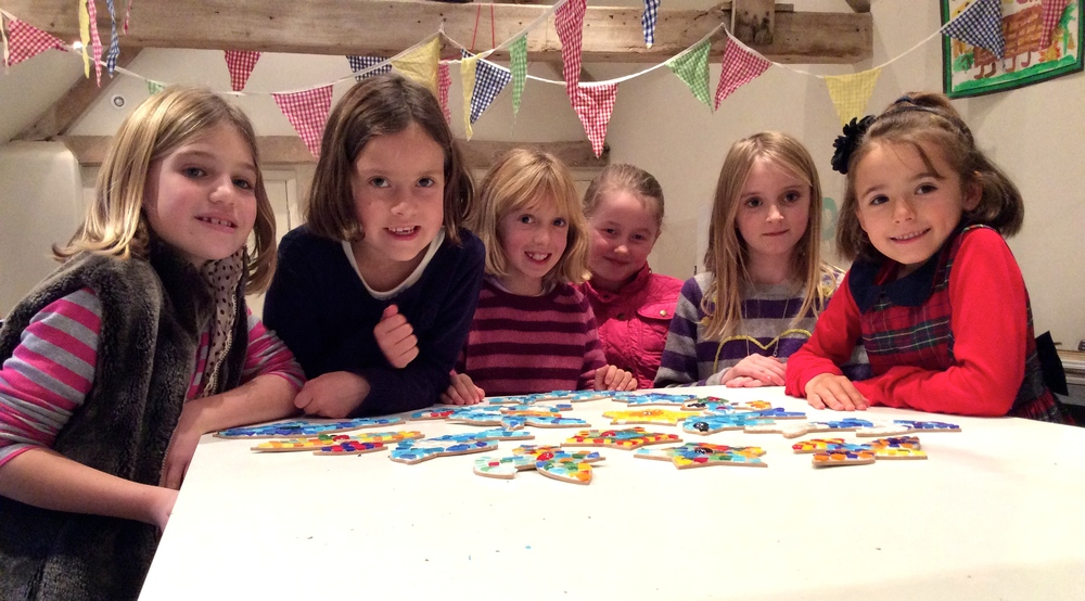 Childrens mosaic party