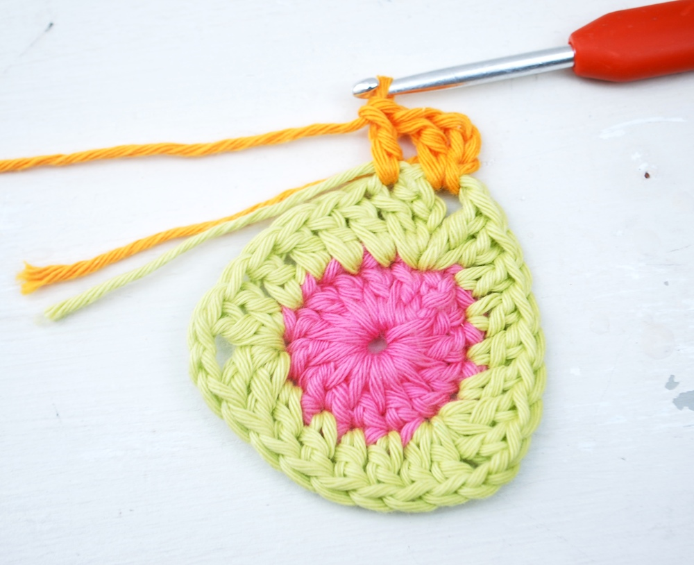 Into the next stitch work 1 treble crochet.