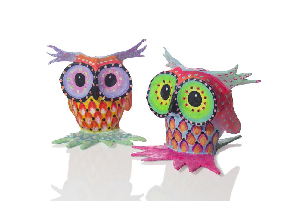 Owl Paper Pets