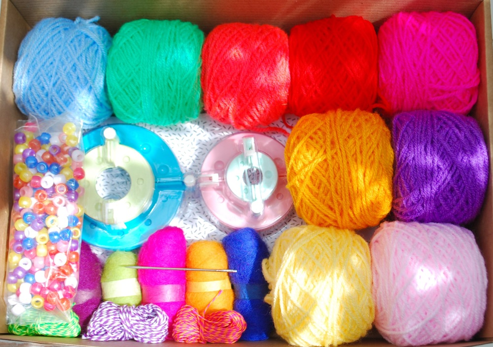 Pom Pom Curtain kit