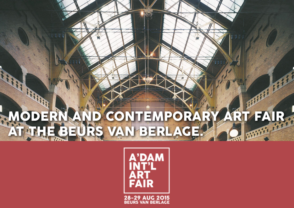 Amsterdam International Art Fair 28-29 August 2015