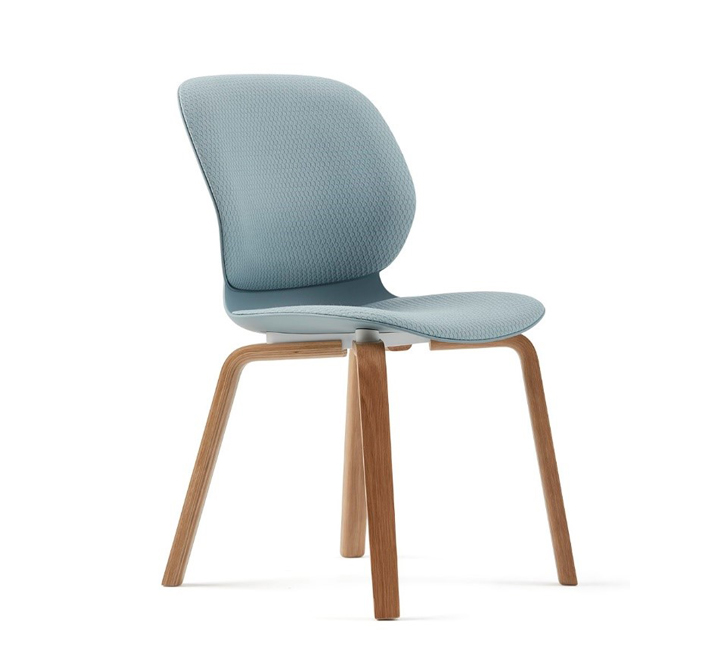 I love just about everything architect and designer Patricia Urquiola has designed for the Haworth portfolio. She lives and works in Milan and you can see the Italian influences in her designs, like  Maari  that was launched at NeoCon 2018.