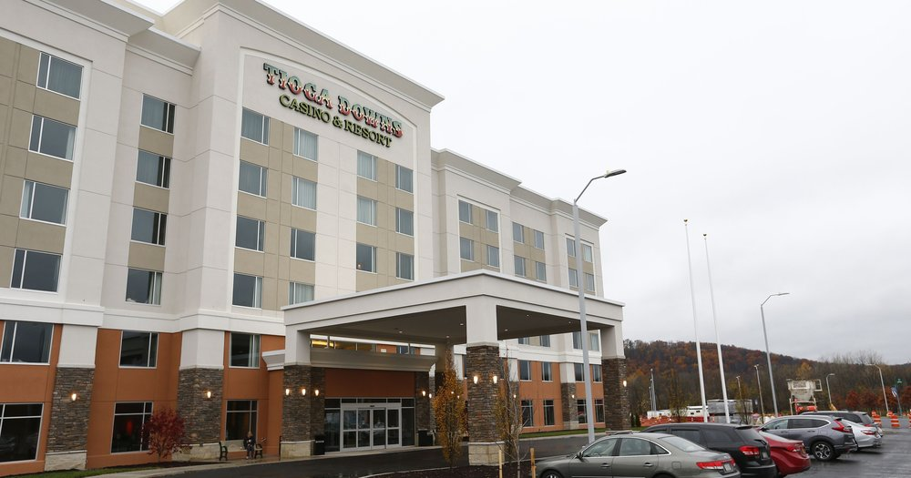 Tioga Downs Hotel & Casino - Location: Nichols, NYClient: American Racing & Entertainment – LP CiminelliProject Size: New casino, restaurants & 161 room hotelScopes: Procurement and project management of furniture, flooring, and lightingOpening: Fall 2017