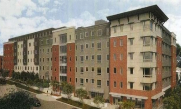 Eagles Landing - Location: Burlington, VTClient: Champlain CollegeProject Size: 105 Units, 314 BedsSquare Footage: 160,000Scopes:Flooring, Furniture, Cabinets, Countertops, and AppliancesOpening: August, 2018