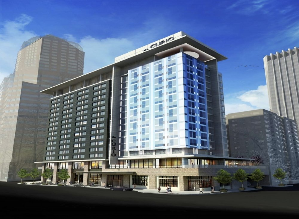 The Porter Hotel - Location: Portland, ORClient: Widewaters HotelsProject Size: 299 Guest rooms and 180,000 +/- sqft. total with a full-service restaurant and retailScopes: FF&E Procurement ConsultantOpening: 2018