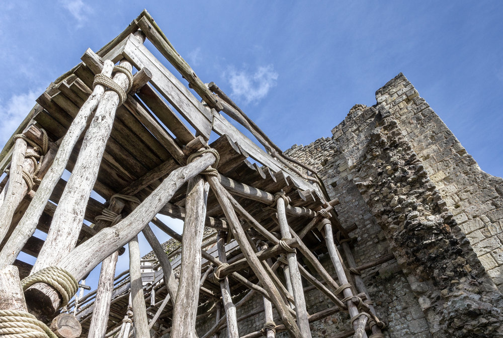 Historically Correct, Wooden Scaffolding