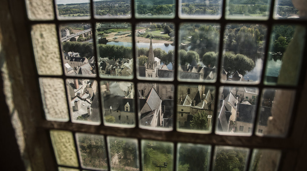 View from Forteresse Royale de Chinon