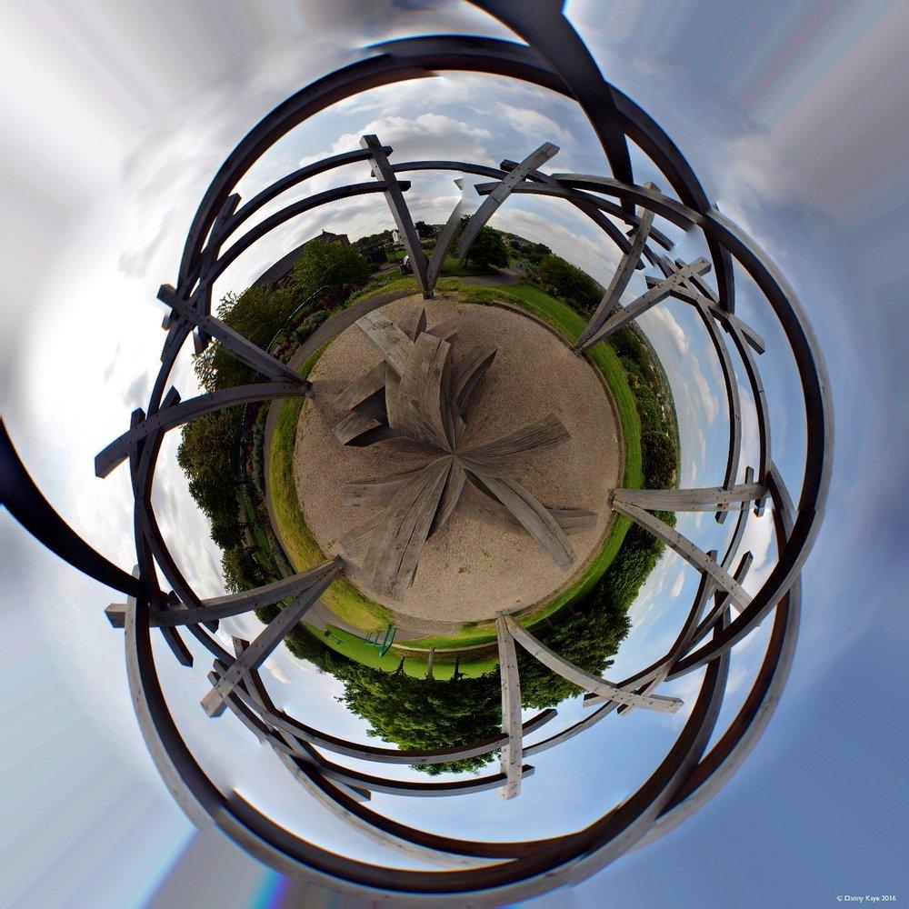Wood Henge Heeley Millennium Park