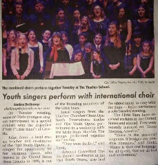 Little Stars make the front page in Ojai!