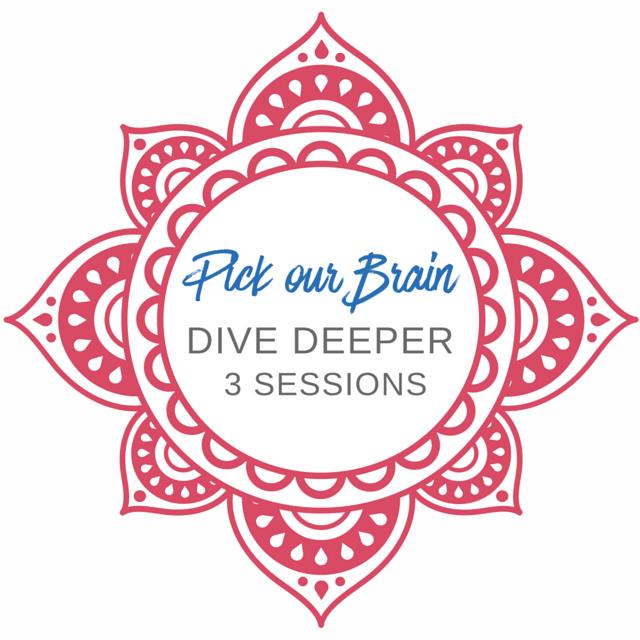 Dive Deeper 3 Sessions