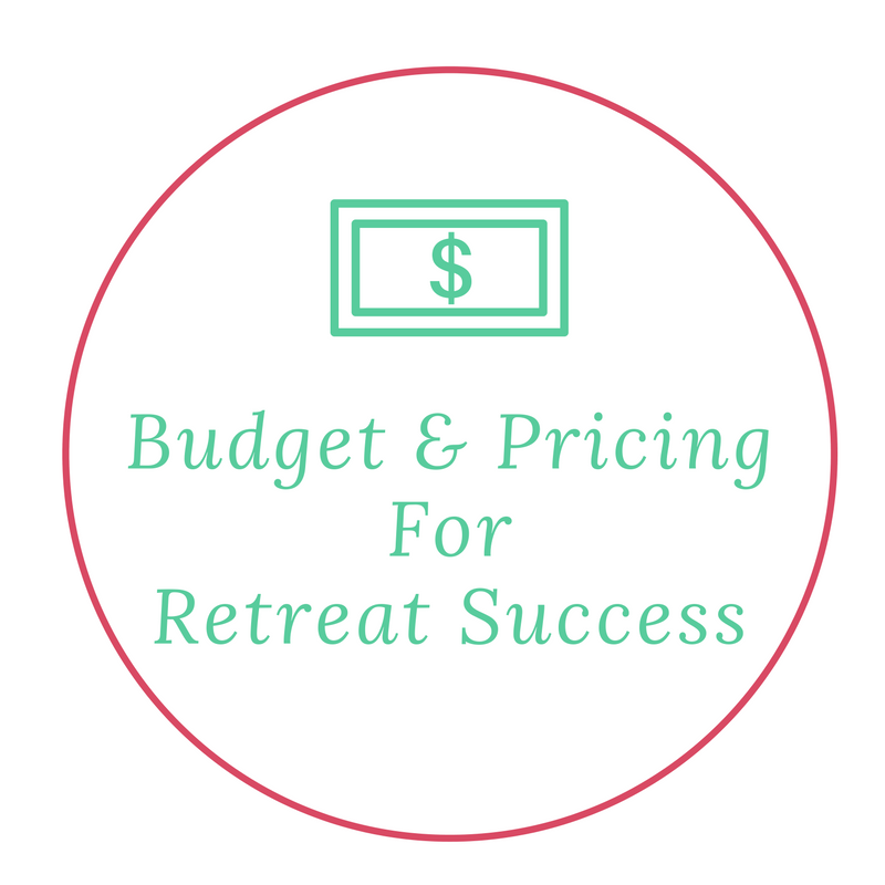 Budget and pricing for retreat success