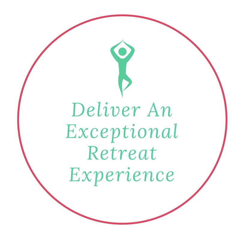 Deliver an exceptional retreat experince