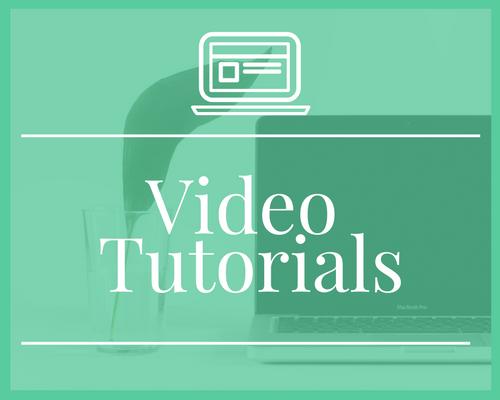 Video Tutorials