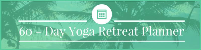 60-day yoga retreat planner