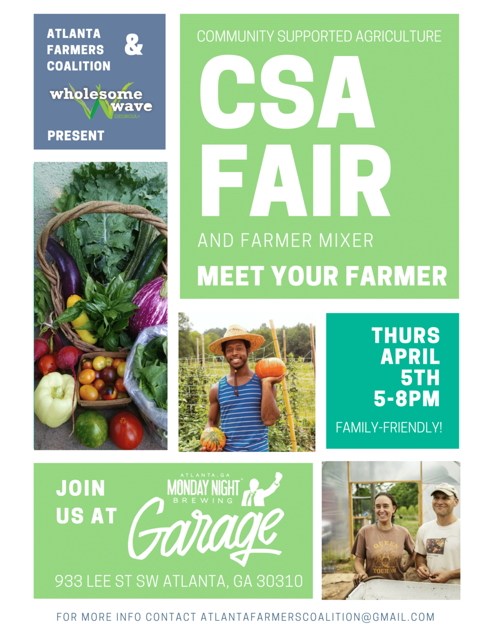 CSA Fair & Farmer Mixer