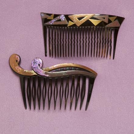 Vintage Japanese Combs