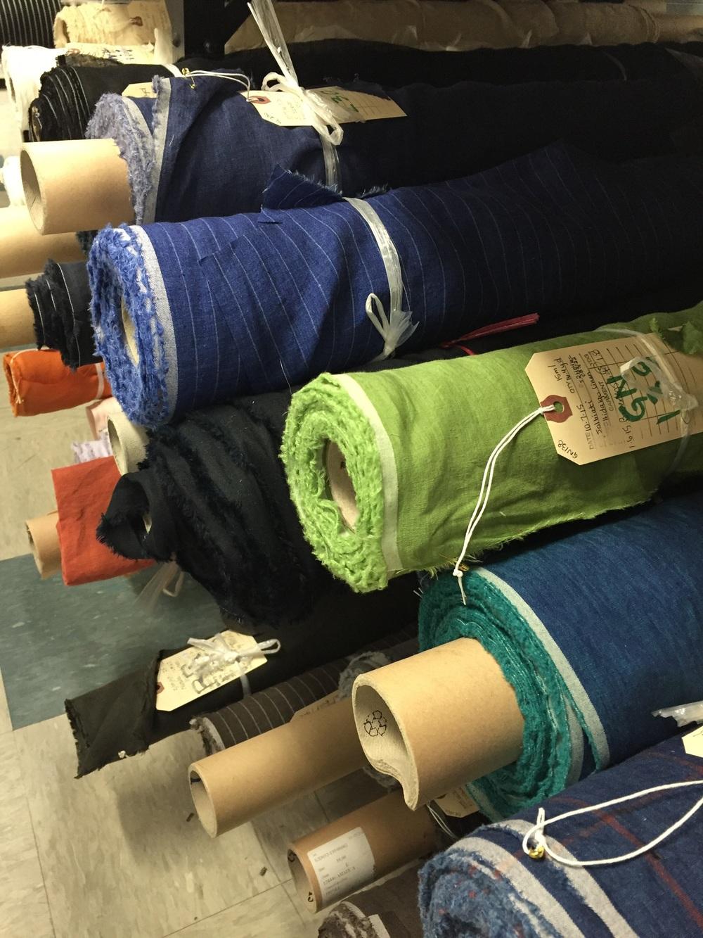 Solbiati linens from Italy.