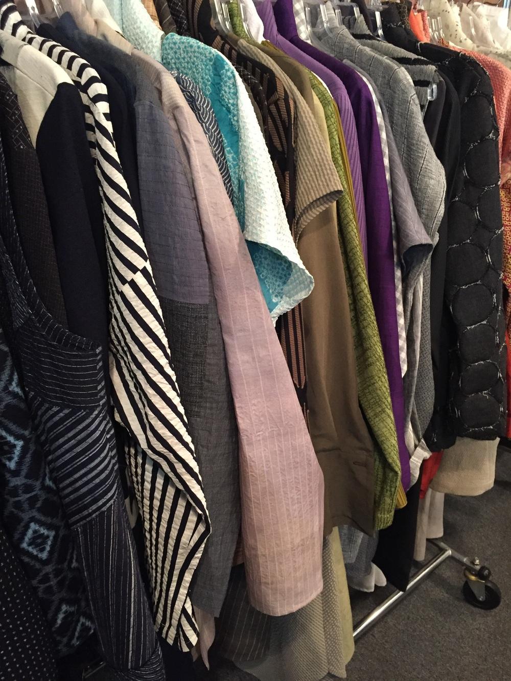 Spring clothes.