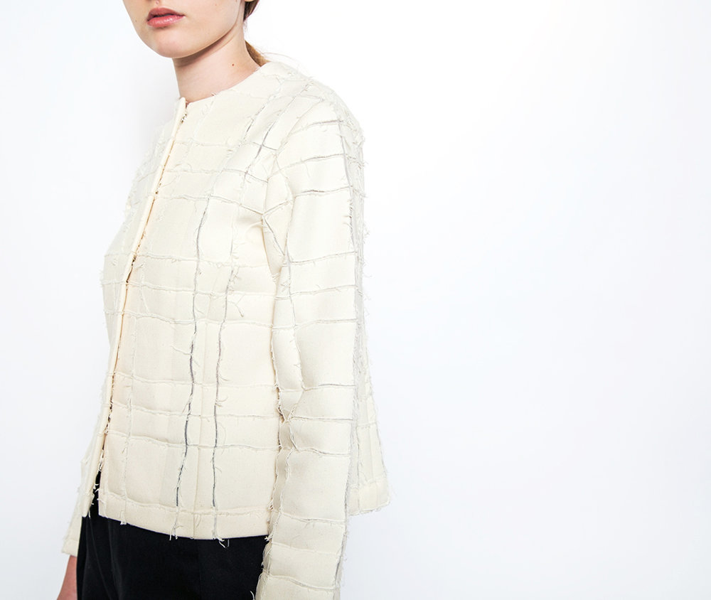 Our Jean Jacket in Nuno Rip-Grid