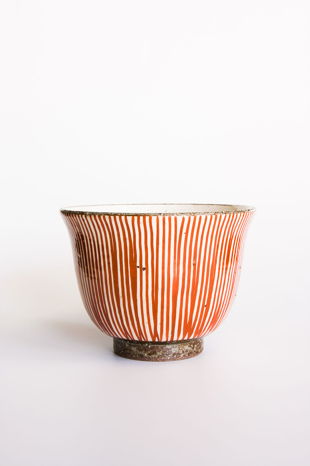 Red Striped Bowl  $45