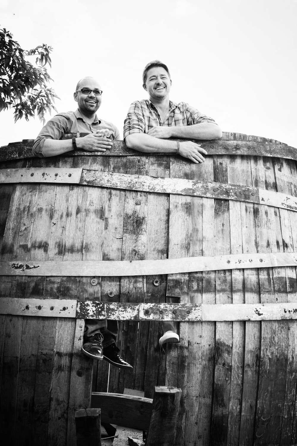 Founders & Distillers Michael Goldney & Cary Bowman