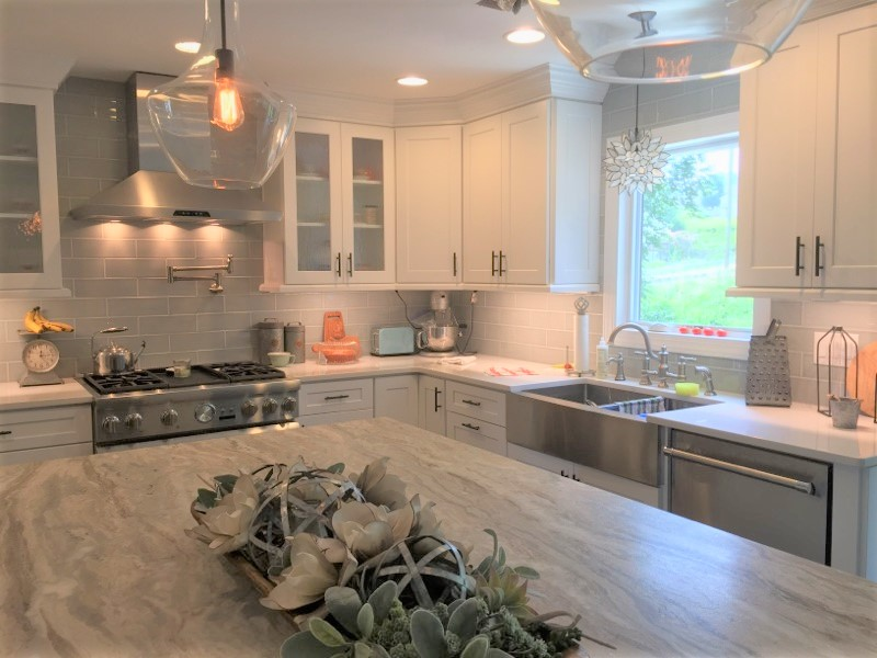 OUR Product - We provide several lines of semi-custom cabinets, high quality hardware, and cabinet accessories. We use prefabricated cabinets, which we can modify to meet the most current trends. By using us, you get the design you want and need without having to overpay for a full custom kitchen.