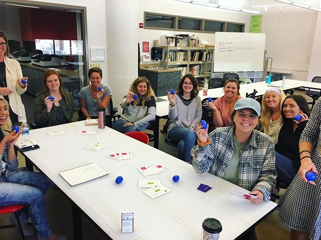 Good Eggs is on the move! We were lucky enough to get an opportunity to visit @universityofdayton Visual Arts Department to talk creativity and branding with a group of talented seniors! Everyone gets a Good Egg! #WeAreGoodEggs #GraphicDesign #Design #Branding #Advertising