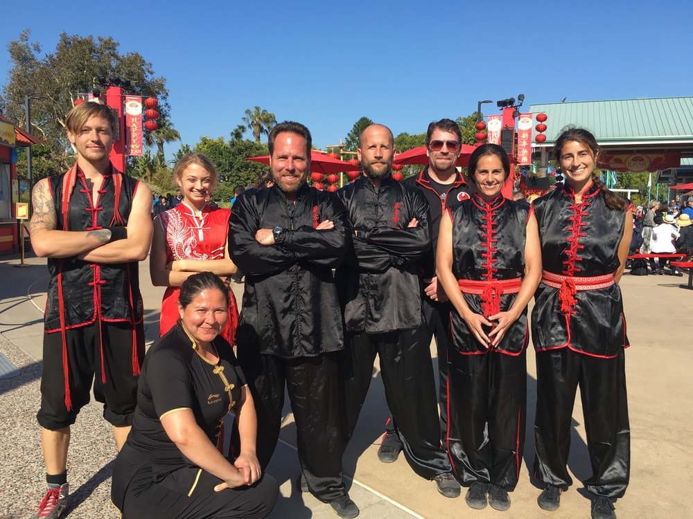 San Diego Chan Family Choy Lee Fut under Country Master Sifu Thomas Fuhr.