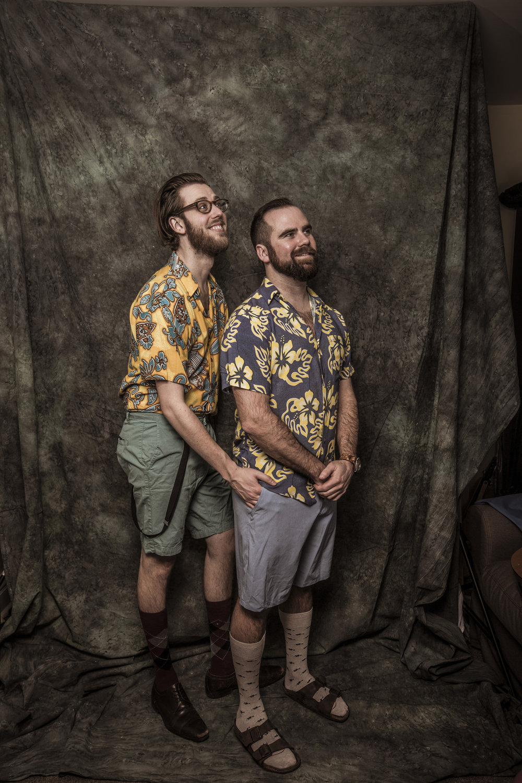 Robbie & Matthew Photoshoot