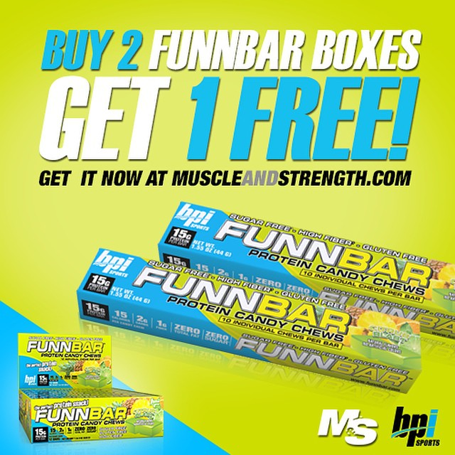 Don't miss this deal from our friends at @muscleandstrength The #FUNN continues. Make sure to check it out!