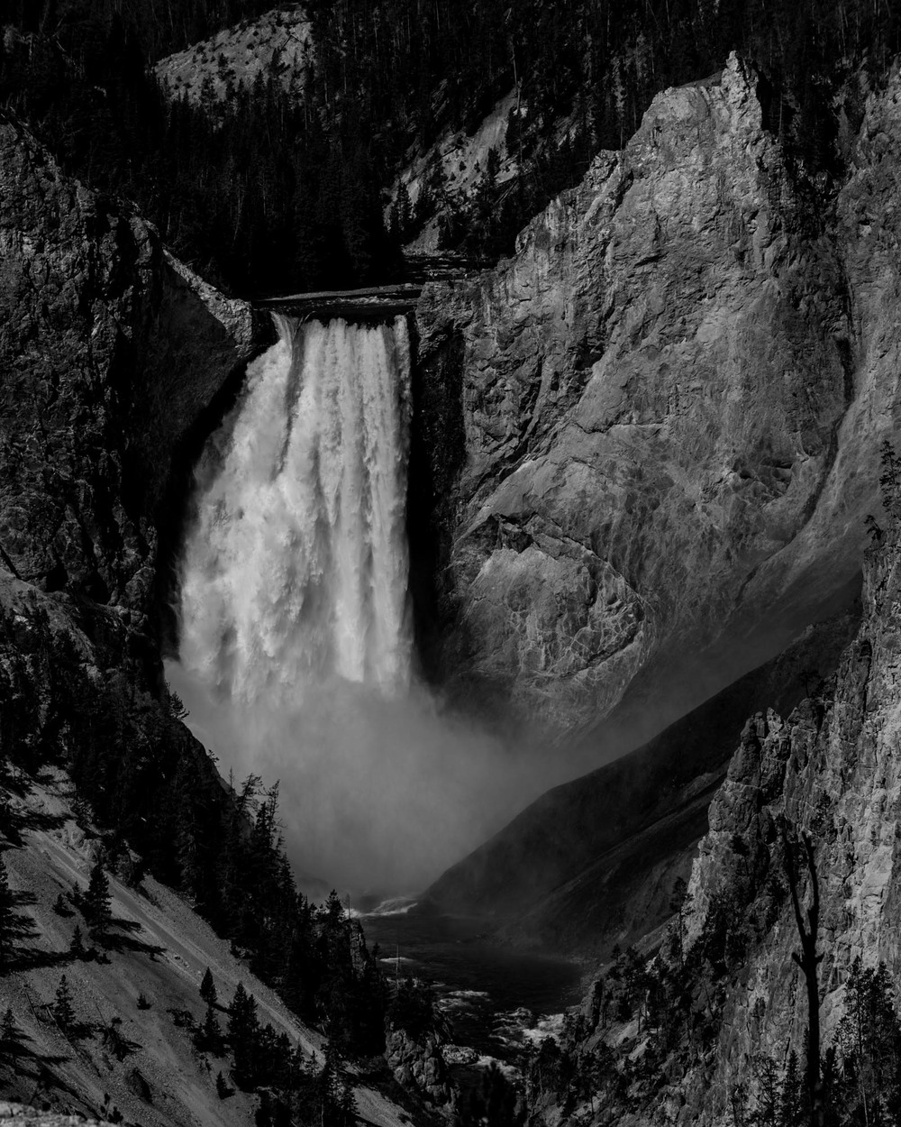 Yellowstone River Lower Falls