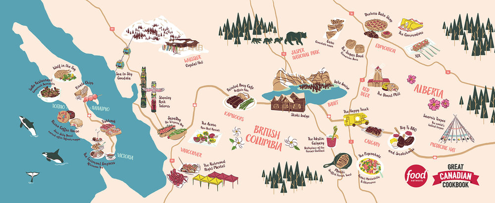 Great Canadian Cookbook - BC & Alberta