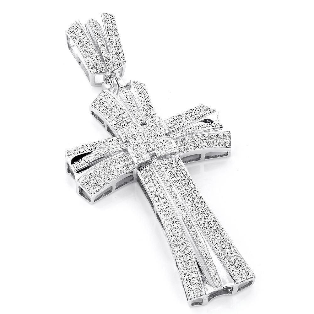 Large diamond cross pendant light catalogue light ideas crosses george the creator hip hop pendants large mens diamond cross pendant audiocablefo mozeypictures Choice Image