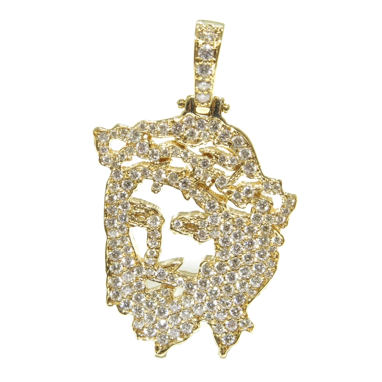 co pendant if piece eyes products jesus diamond micro