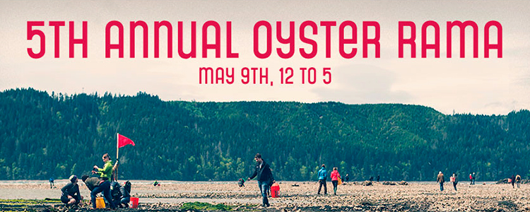 Shuck your heart out at Hama Hama Oyster Rama 2015