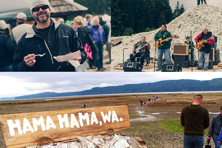 Tap your toes to live music all day as you don your poncho, rubber boots, and sense of adventure.