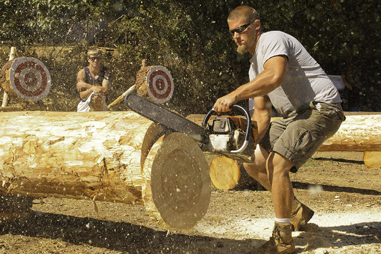 The Mason County Forest Festival is hosting the STIHL® TIMBERSPORTS® Western Regional Qualifier on Saturday, May 30, 2015.