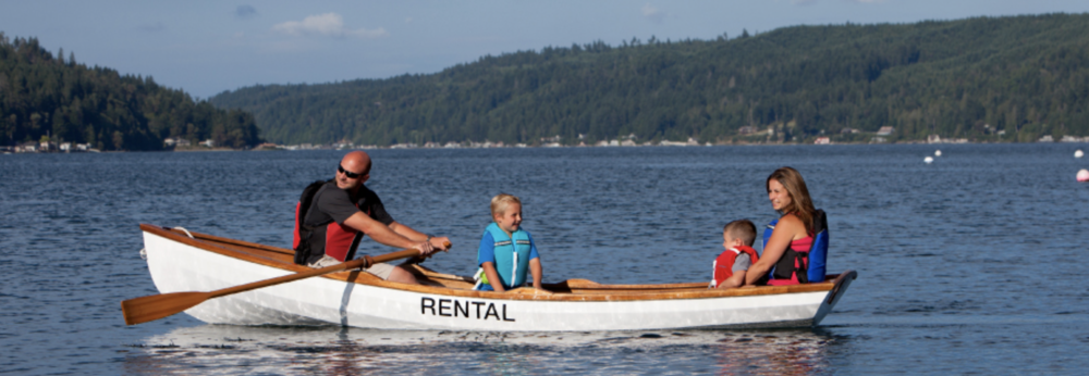 Alderbrook rentals range from the MV Lady Alderbrook and the schooner, Pleiades  to kayaks and rowboats – and everything in between!