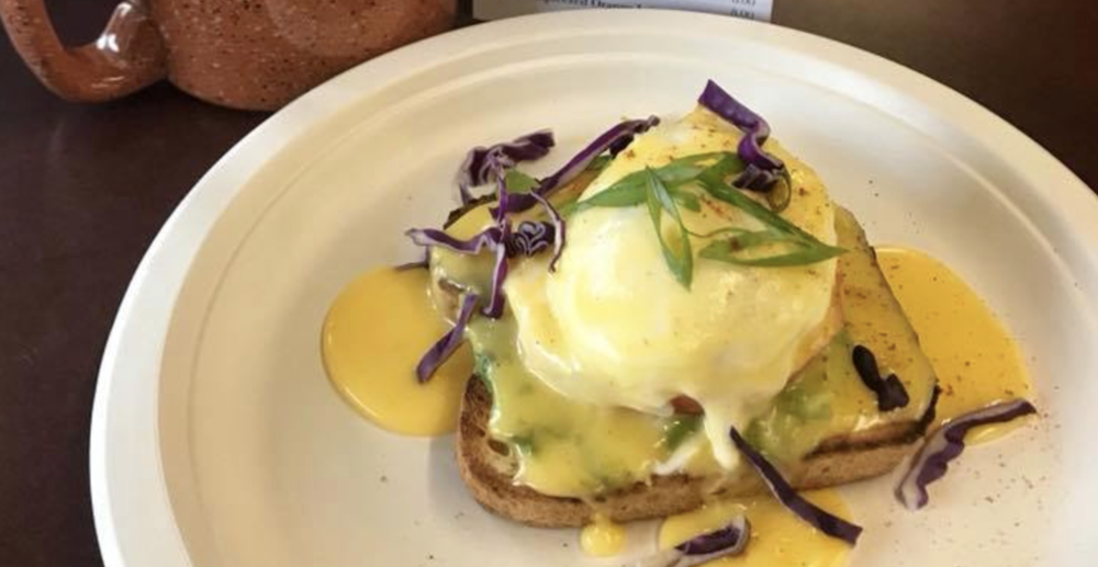 Eggs Benedict at the Union Country Store, 5130 E State Route 106