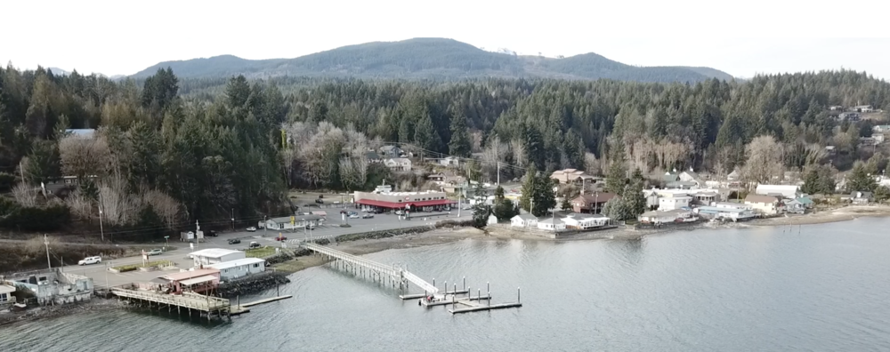 Hoodsport, WA is a small village wrapping itself around the western shores of Hood Canal. The Hardware Distillery is located just beyond the public marina and beach access.
