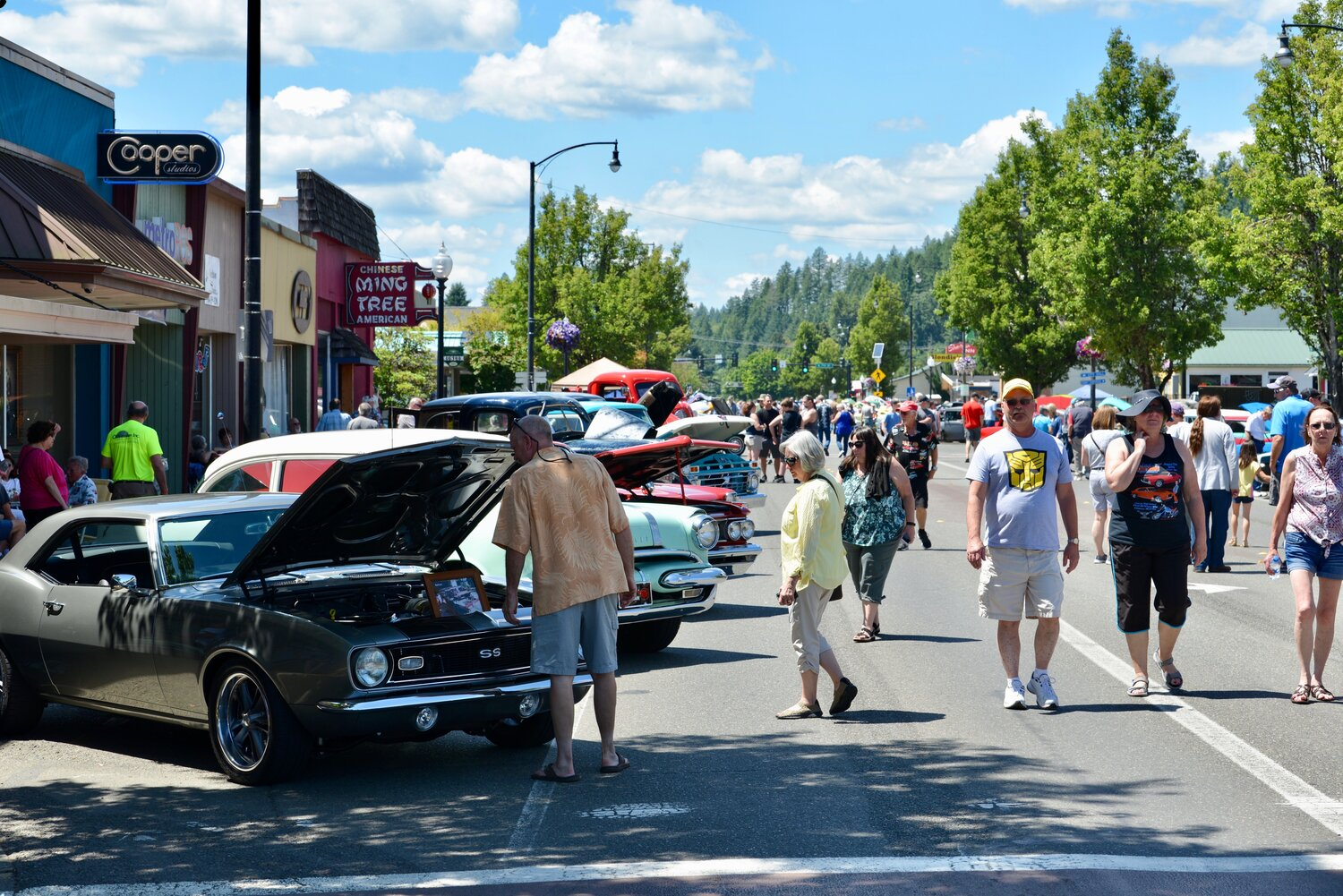 Mason County Historical Car Show Explore Hood Canal - Classic car show washington