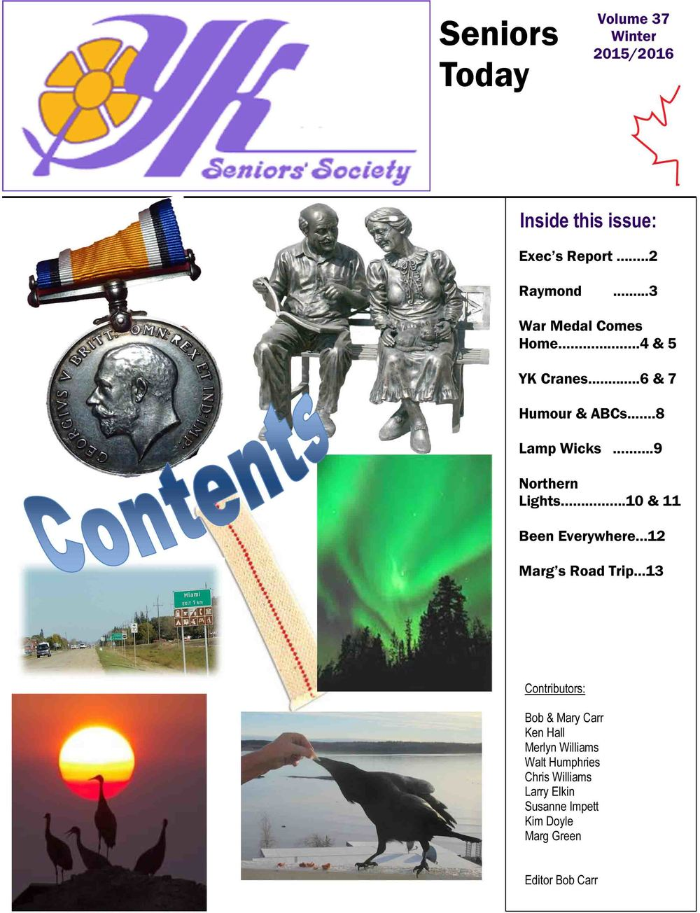 Vol 37 Winter 2015/ 2016